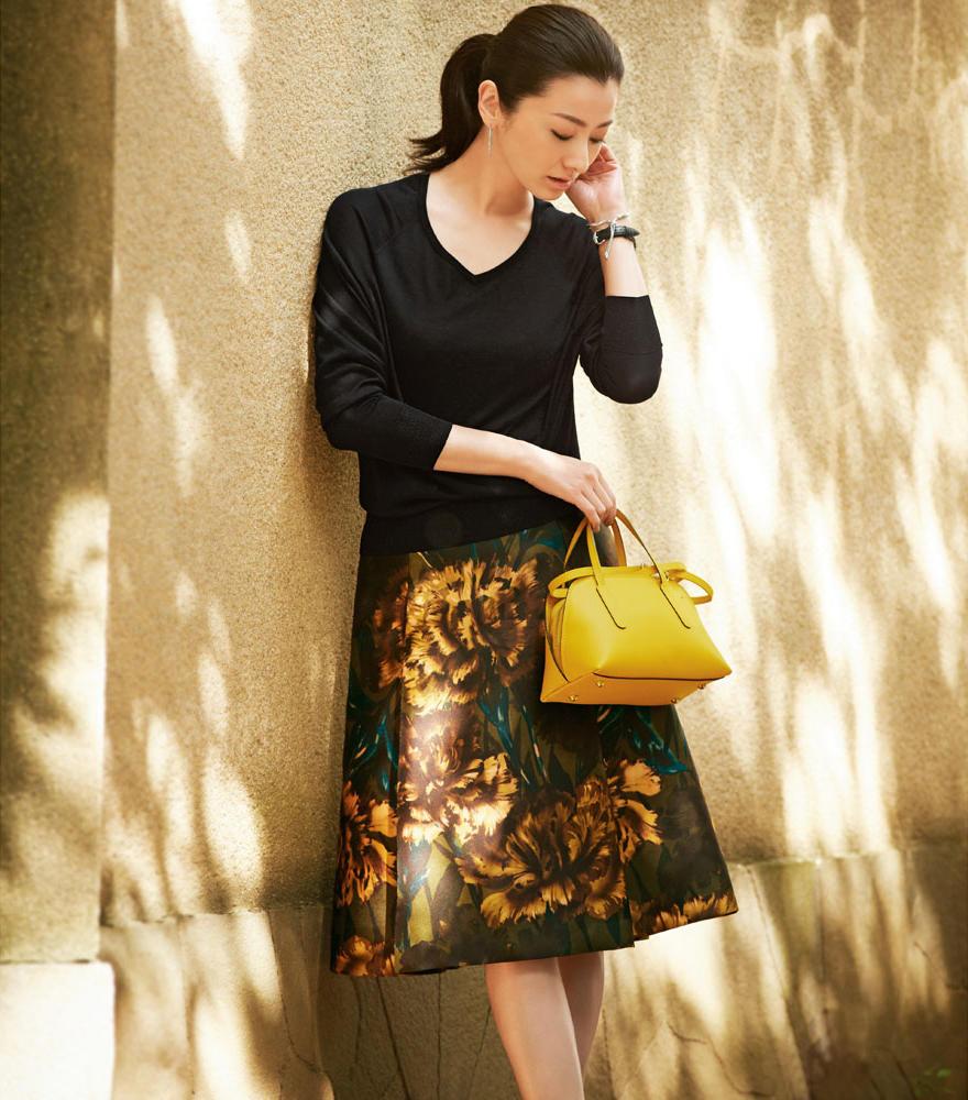 01813022dbeb1 2016年大人の秋服は、色やシルエットにこだわったファッションコーデを ...