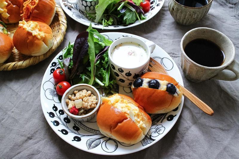 朝ごはんをランチをおしゃれに!ワンプレートの盛り付け ...