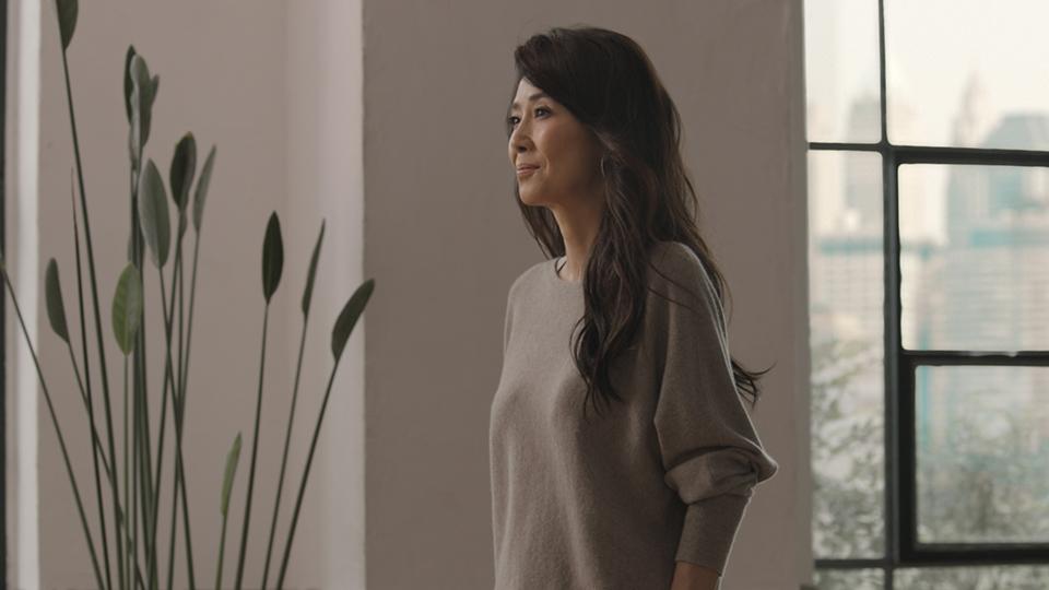 おしゃれな服の萬田久子