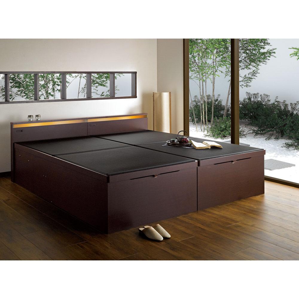 注目の商品】 <ディノスdinos> 縦開きリフトアップ畳ベッド シングル