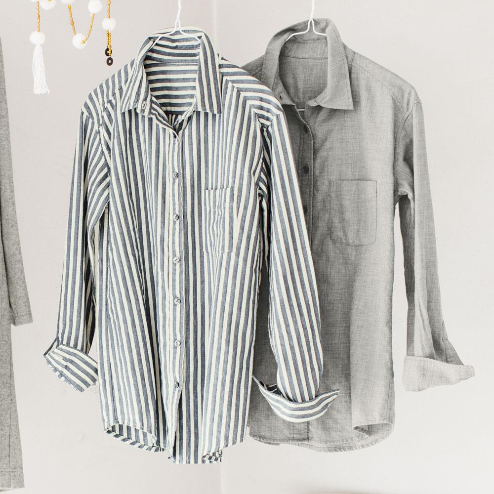 ディノス オンラインショップオーガニックコットンシャツ