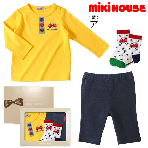 miki HOUSE/Tシャツ3点セット