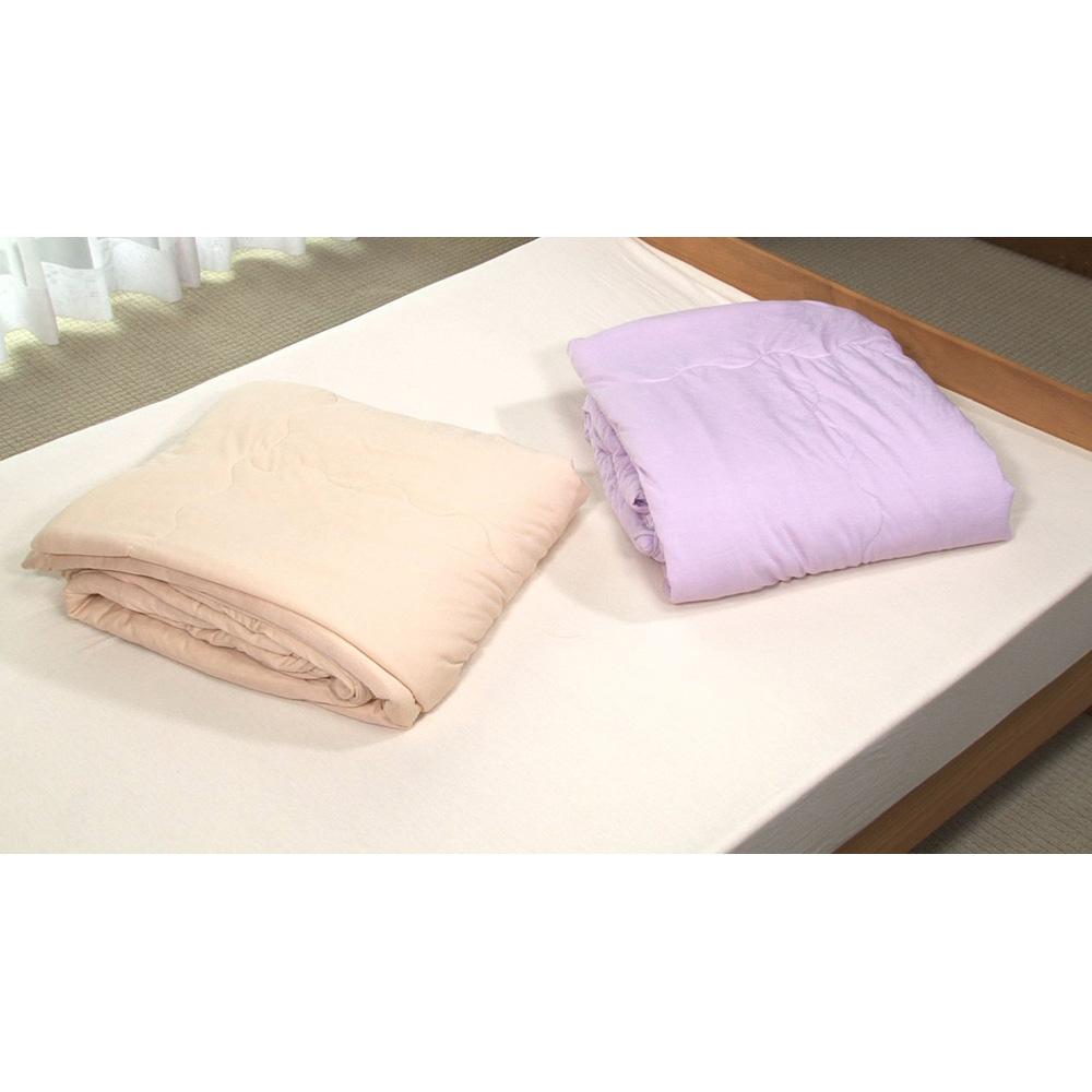 シルク真綿のシフォンケット(シングル)