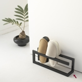 Thin type Slippers rack (Regular) [modern Design front door store and a Iron thin shape,* space-savingly]