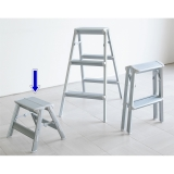 "Design Stepladder ""skit step"" (with Shoulder belt)  1 step"