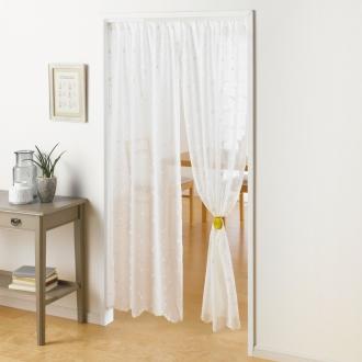 ディノス オンラインショップ丈150cm トルコ製生地使用刺しゅう スタイルカーテンシリーズ のれん140cm幅(1枚)