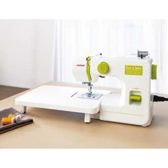 JANOME/ジャノメ コンパクトミシン ワイドテーブル付き 特別セット