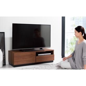 ディノス オンラインショップロースタイル高さ30cm引き出し付きテレビ台シリーズ テレビ台 幅100.5高さ30cmダークブラウン