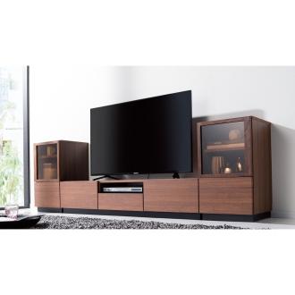 ディノス オンラインショップロースタイル高さ30cm引き出し付きテレビ台シリーズ テレビ台 幅150.5高さ30cmダークブラウン
