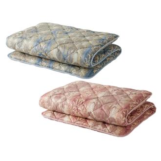 ディノス オンラインショップ柄任せバーゲン寝具シリーズ フランス産羊毛混敷布団 シングルロング