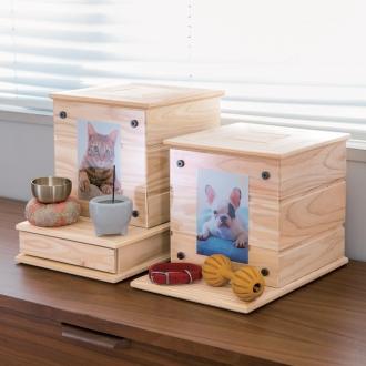 天然木ペットのメモリアルボックス 本体