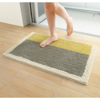 About 70 × 100 cm (antibacterial bath mat)