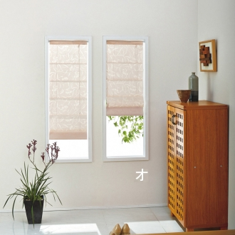 幅24×丈90cm 取付け簡単!小窓用シェード