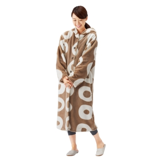 yucuss 北欧デザイン毛布 着る毛布