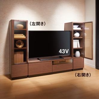 ブロンズガラステレビ台シリーズ テレビ台・幅100.5cm