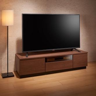 ブロンズガラステレビ台シリーズ テレビ台・幅120.5cm