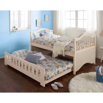 エレガント天然木親子ベッド
