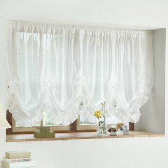 ディノス オンラインショップウェーブロン(R)+(プラス)使用 採光拡散・遮熱バルーンスタイルカーテン