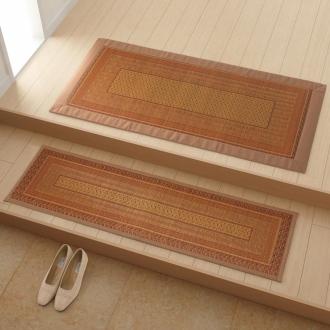 約60×120cm(紋織りい草マット 〈ランクス〉(裏・ウレタン、太べりタイプ))
