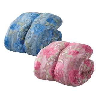 ディノス オンラインショップ羽毛増量タイプ(バーゲン寝具シリーズ 羽毛布団 シングルロング)ブルー
