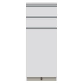 家電が使いやすいハイカウンター奥行50cm キッチンカウンター高さ101cm幅40cm/パモウナVQ-400KR 下台