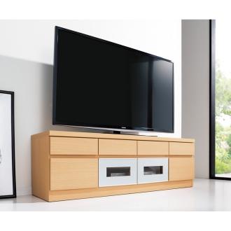 引き出しいっぱいテレビ台 ロータイプ 幅130高さ42cm