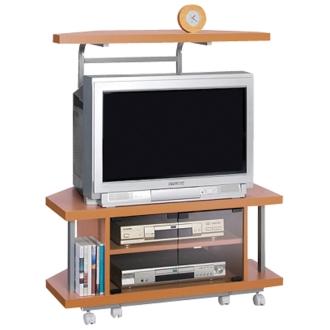 テレビ上の空間を有効活用できるシリーズ コーナー用テレビ台 幅90cm・棚1段