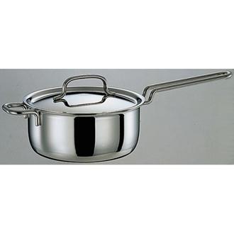 服部先生のステンレス7層構造鍋「ジオ」 片手鍋径14cm
