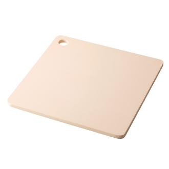 Pro lasting pleasant antibacterial cutting board part light square