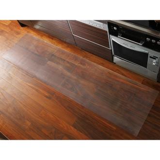 アキレス透明キッチンフロアマット(奥行60cm) 幅180cm