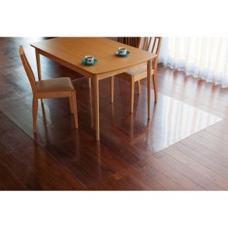 アキレス透明ダイニングテーブル下マット 90×150cm