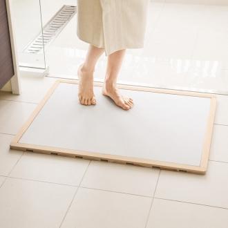 宽度45·50厘米/深度56厘米(soleau / Soreu水,快干,除臭剂浴垫及柏树烤架集大小顺序)