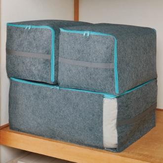 ディノス オンラインショップ吸湿・消臭AirJob(R)布団収納袋 お得な2個組 小グレー