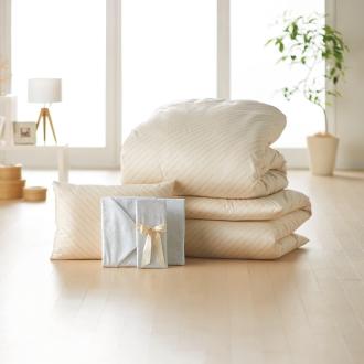 2段ベッド用6点(お得な完璧セット(布団+カバー))
