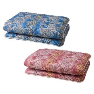 ディノス オンラインショップ柄任せバーゲン寝具シリーズ 抗菌防臭・防ダニわた敷布団 シングルロングピンク