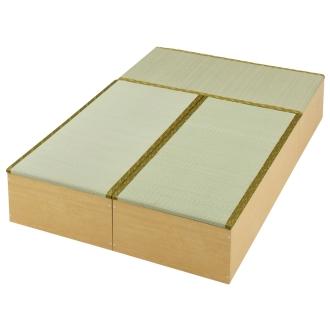 ディノス オンラインショップユニット畳シリーズ お得なセット 3畳セット 幅120奥行180cm 高さ31cmダークブラウン