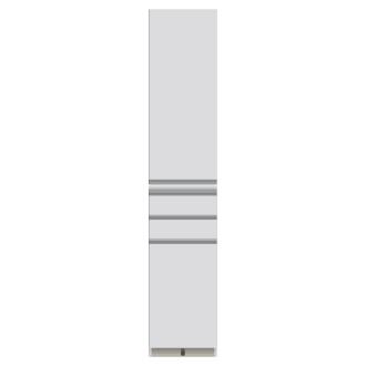 家電が使いやすいハイカウンター 奥行50cm 食器棚高さ203cm幅60cm/パモウナDQ-600K