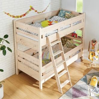 【ショート】日光ひのきの2段ベッド