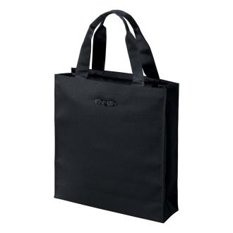 〈岩佐〉手荷物すっきり大きめフォーマルサブバッグブラック