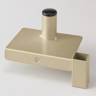 スティッククリーナースタンド 収納力アップパーツ単品(シャンパンゴールド)シャンパンゴールド