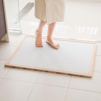 寬度75·80厘米/深度36厘米(soleau / Soreu水,快乾,除臭劑浴墊及柏樹烤架集大小順序)