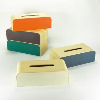 Color box Nordic tone tissue case