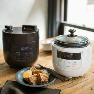 [With benefits! ] Siroca / whitening slow cooker corresponding electric pressure cooker dinos special set