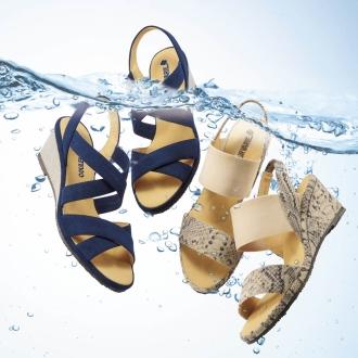 Crawl Vallier washable Python-style sandals
