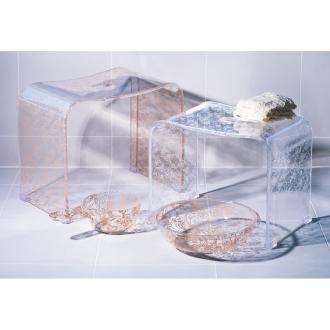 クリアローズ バスシリーズ バスチェアLL&洗面器&手桶