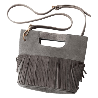 Cachellie / Kasherie fringe two-way leather bag
