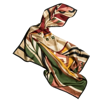 100% silk scarf (made in Japan)