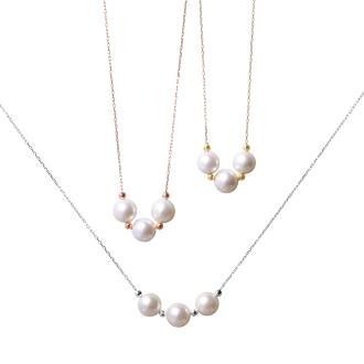 K10日本Akoya珍珠項鍊設計