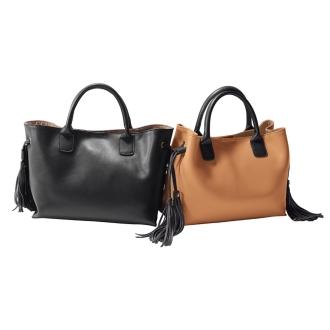 Nulle Part / Niruparu Tassel leather bag