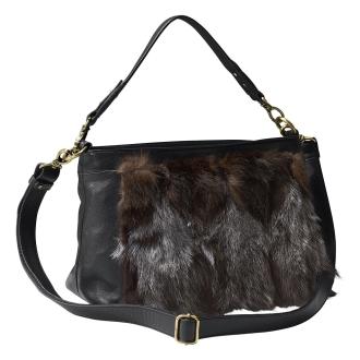 Fox fur Tsukai two-way bag